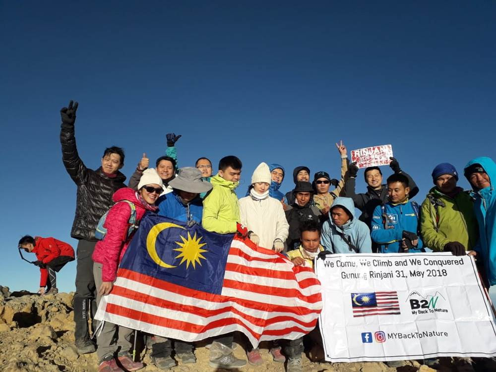 3days summit rinjani